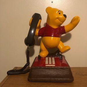 Vintage Winnie the Pooh phone